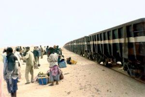 Железнодорожный маршрут и единственный поезд Мавритании