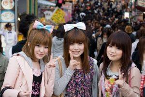 Школьные каникулы в Японии