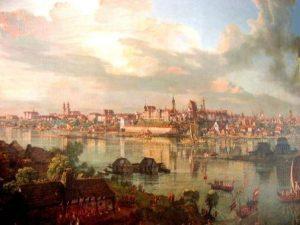 Варшаву восстанавливали по картинам художников