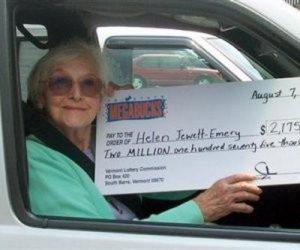 Женщина, которая 4 раза  выиграла в лотерею
