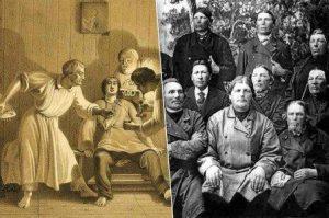 Скопцы — секта, которая имела в своей основе принцип кастрации