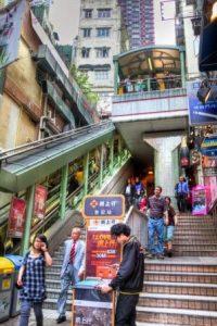 Эскалаторы Гонконга