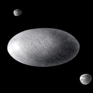 Планета Хаумеа — один из самых причудливых объектов Солнечной системы