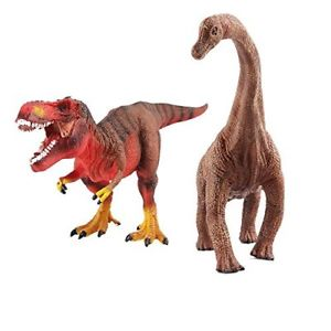 Человек, Тиранозавр и Диплодок
