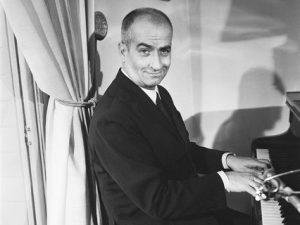 Луи де Фюнес был талантливым пианистом