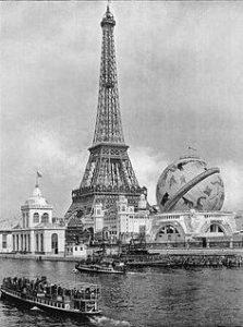 Конкурс воздушных шаров на Всемирной выставке 1900 года в Париже
