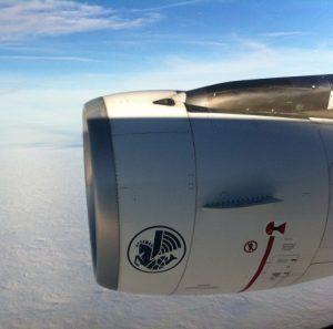 Что за крылатый конь на некоторых самолетах Air France?