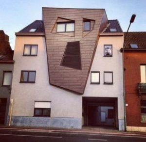 Уродливые бельгийские дома