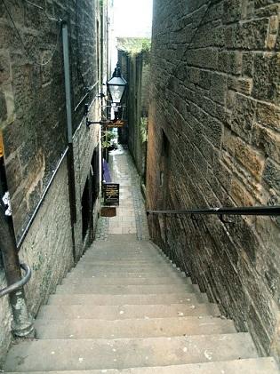 Закрытые переулки в Эдинбурге