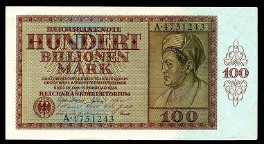 Германская гиперинфляция 1923 года