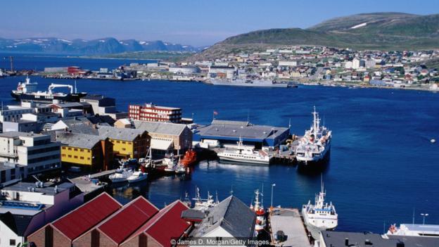 Норвежский город, который бросил вызов миру